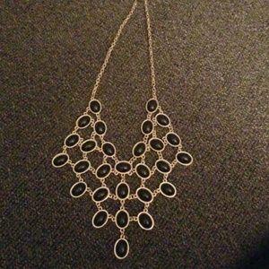 Jewelry - Black designer necklace